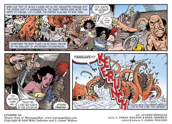 Tiegre: East of Warmageddon Season 1 Strip 1 by ljamalwalton