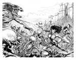 Warmageddon: Tiegre, Kiara, and the Skeleton King