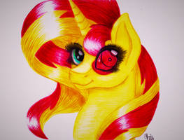 Sunset Shimmer by Shadow-Nights