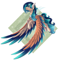 [Commission] Sapphire Breeze by Shadow-Nights