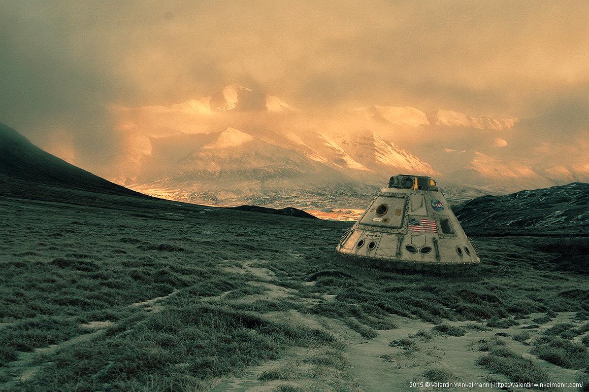 Apollo Landing Capsule III by valentinwinkelmann on DeviantArt