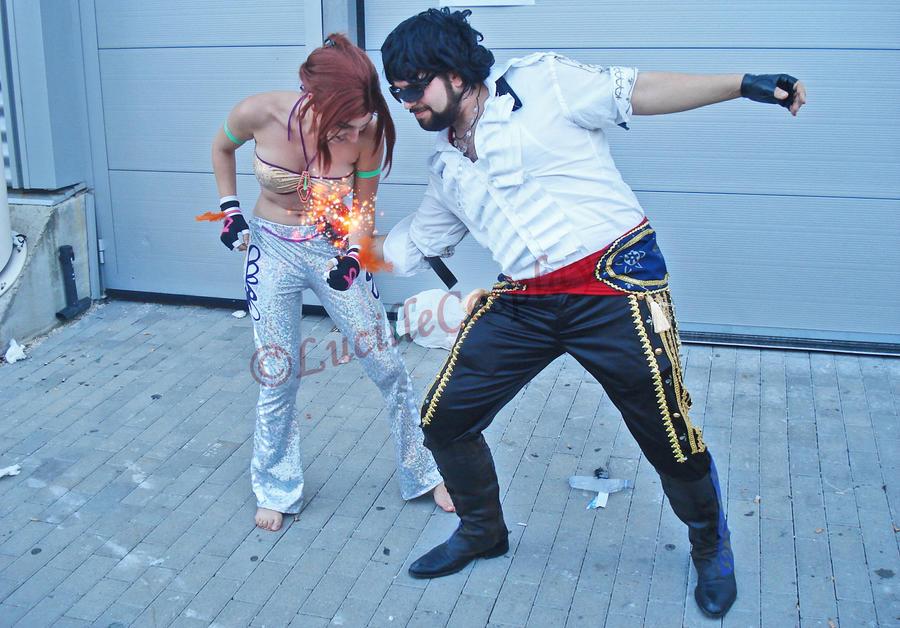 Tekken Miguel Cosplay Miguel vs Christie by BlastXXTekken Miguel Cosplay
