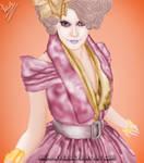 Effie Trinket by Nikmarvel