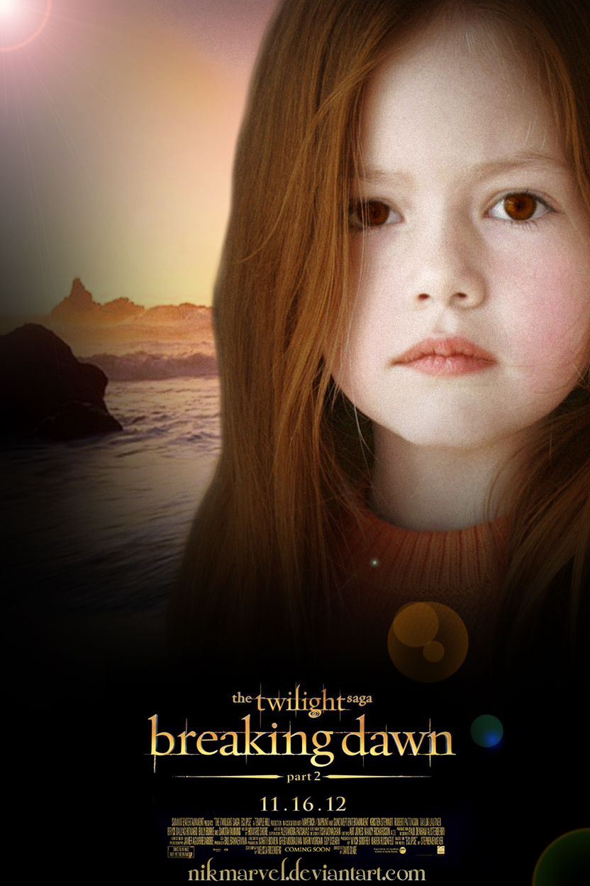Poster - Breaking Dawn. Part 2. by Nikmarvel