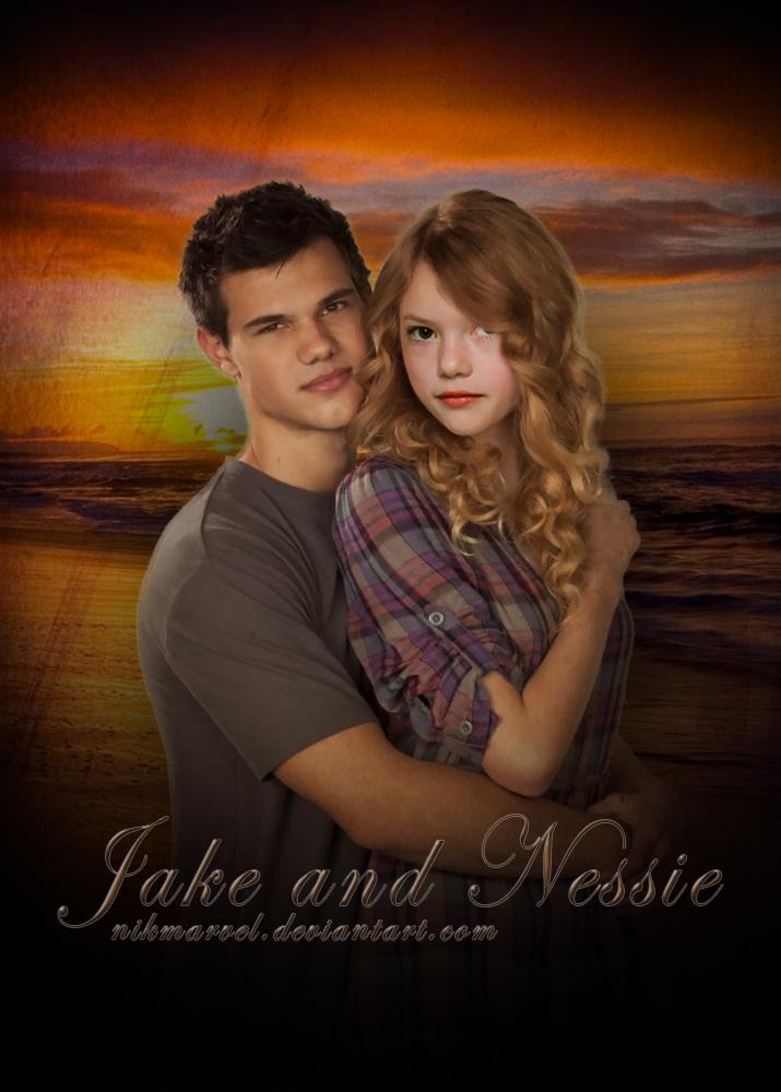 Jake and Renesmee by Nikmarvel