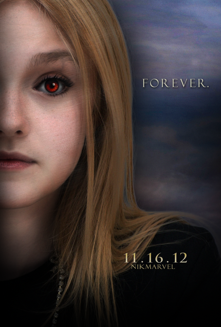 Breaking Dawn. Part 2. Poster. Jane Volturi by Nikmarvel