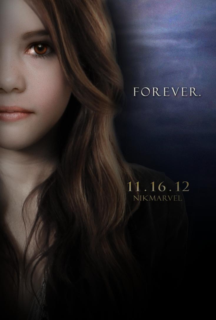 Breaking Dawn. Part 2. Poster. Renesmee teenager. by Nikmarvel