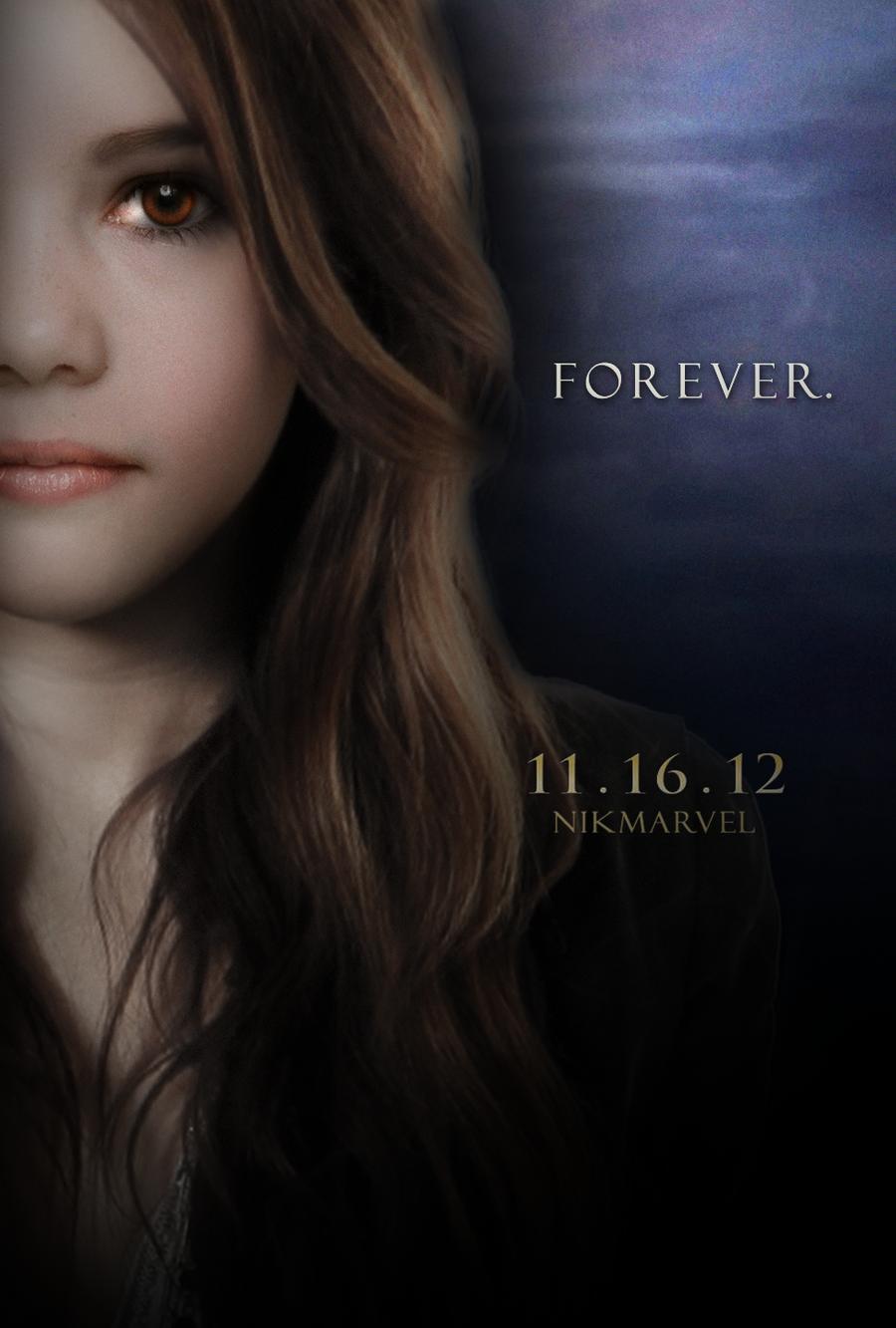 Breaking Dawn. Part 2. Poster. Renesmee teenager. by ...
