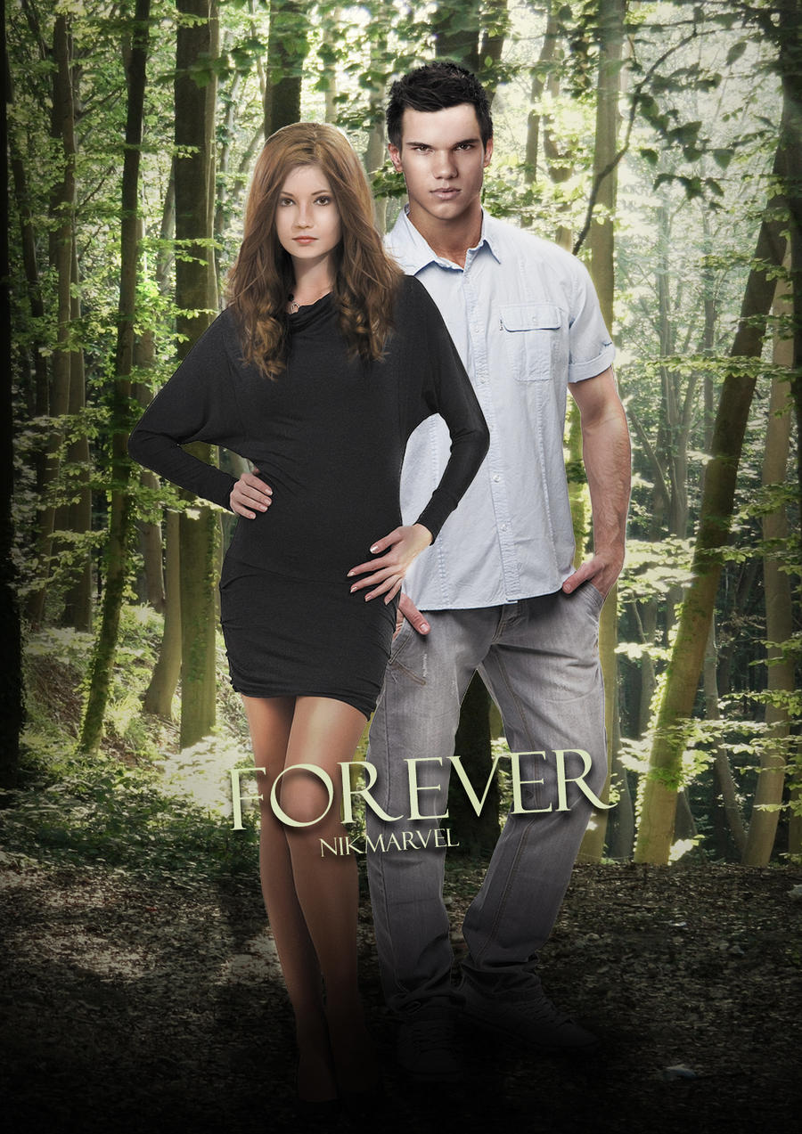 Jake and Nessie - Forever by Nikmarvel