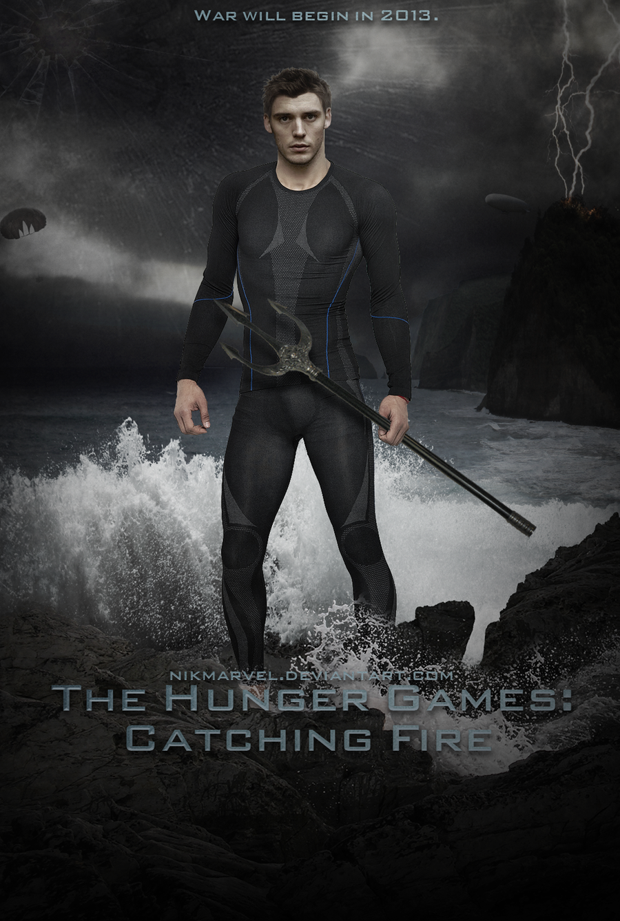 THG: Catching Fire. Finnick. Poster. by Nikmarvel on ...