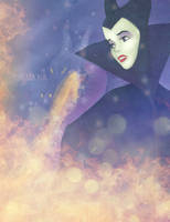 Aurora as Maleficent. by Nikmarvel