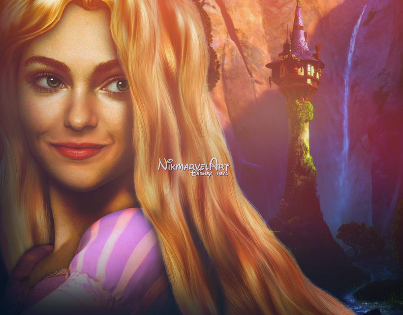 Real life - Rapunzel by Nikmarvel