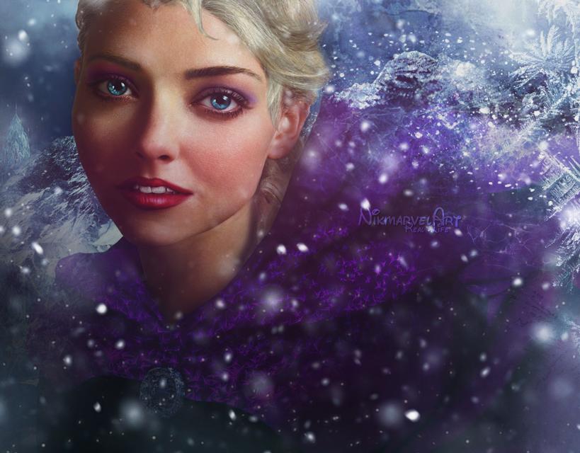 Real life - Elsa by Nikmarvel
