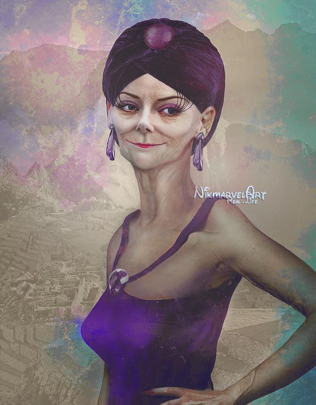Real life - Yzma by Nikmarvel