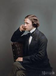 Lewis Carroll by Nikmarvel
