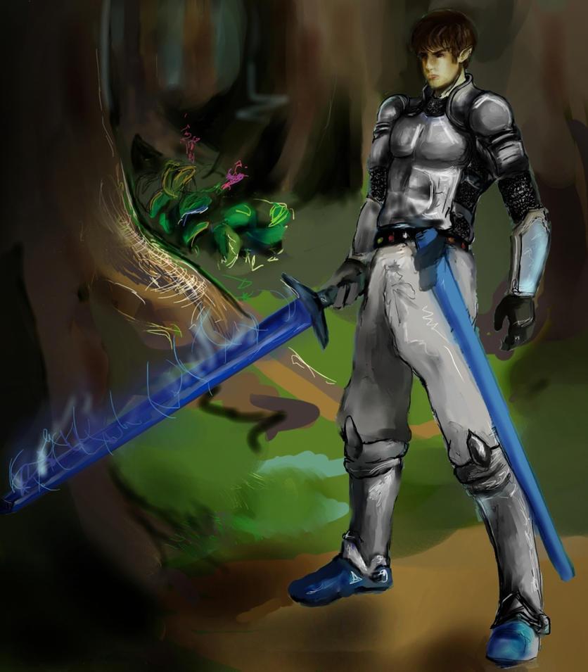Eragon Shadeslayer by ... Eragon And Arya Drawings