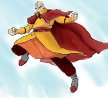Tenzin sketch by voldemortsapprentice