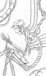Cyborg-Sketch