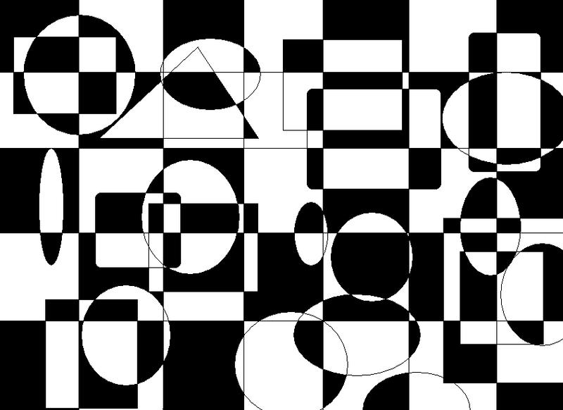 black and white shapes by lonelysoul39 on deviantart. Black Bedroom Furniture Sets. Home Design Ideas