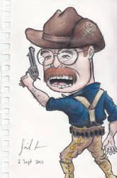 Theodore Roosevelt caricature