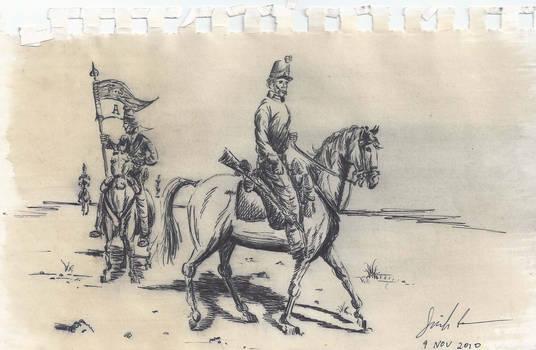 U.S. dragoons, 1854
