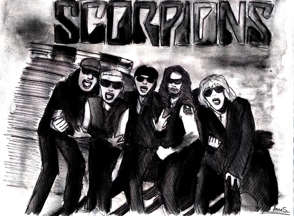 Scorpions by NANAOSAKI-CHAN