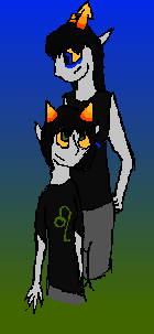 Nepeta and Equius by piplup1662
