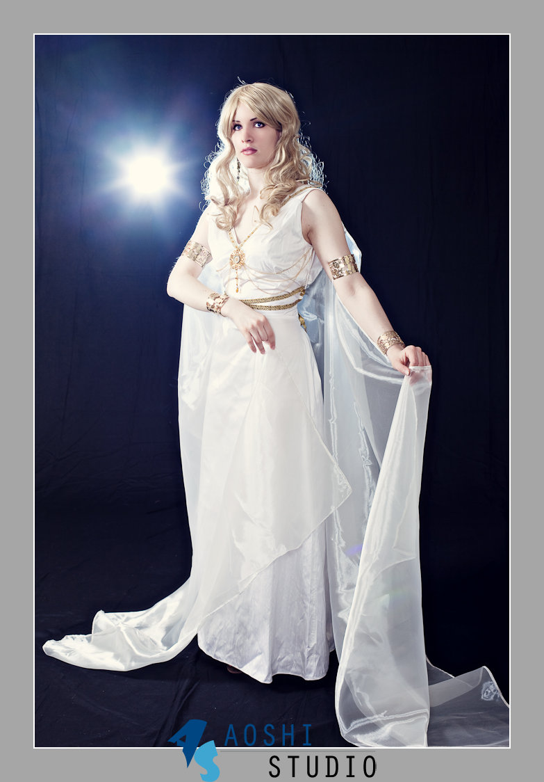 Goddess of Ancient Greece by LuceCosplay on DeviantArt