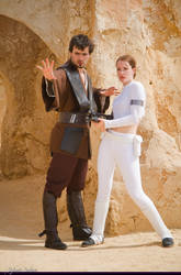 Padme and Anakin by LuceCosplay