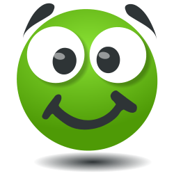 Green Smiley by uitznet
