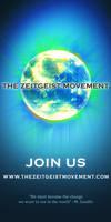 Zeitgeist Movement 1x2 poster
