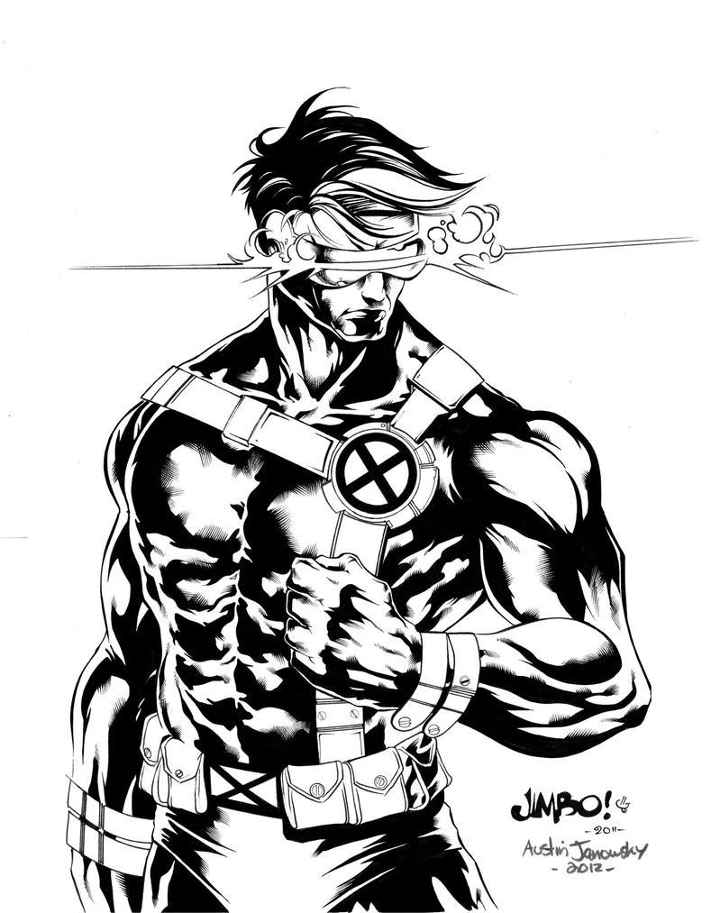 X Men Cyclops Drawings X-men Cyclops by austi...