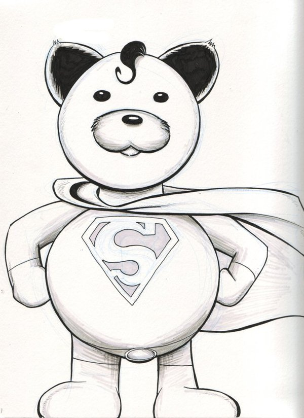 Superbear - NYCC2014 Pre-Commission by austinJanowsky