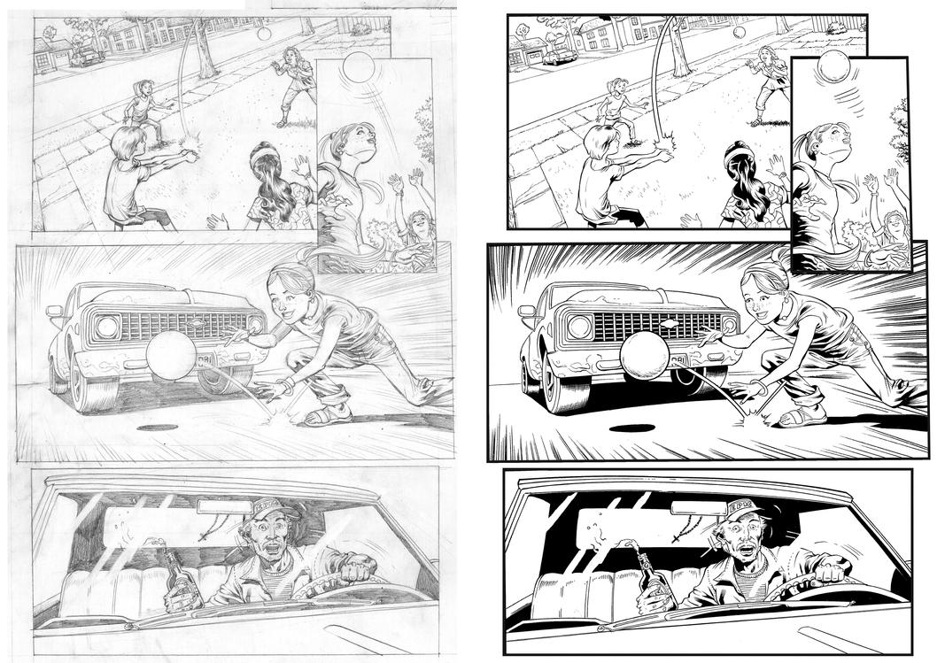 HonorGuard#1-pg5 - Penciled by Allen Goldman by austinJanowsky