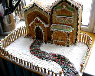 Gingerbread house 2 by Fuytski