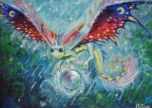 Faerie Dragon by Fuytski