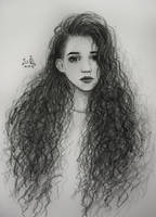 curly hair by Fuytski
