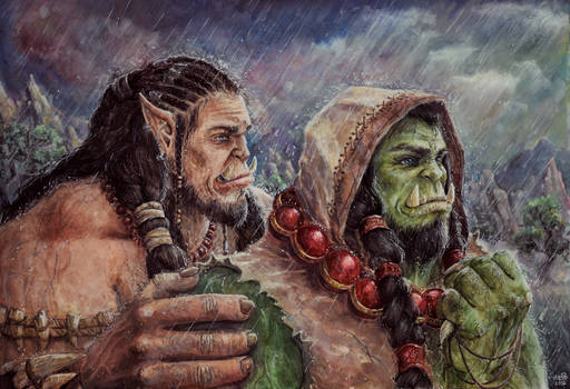 Durotan and Thrall