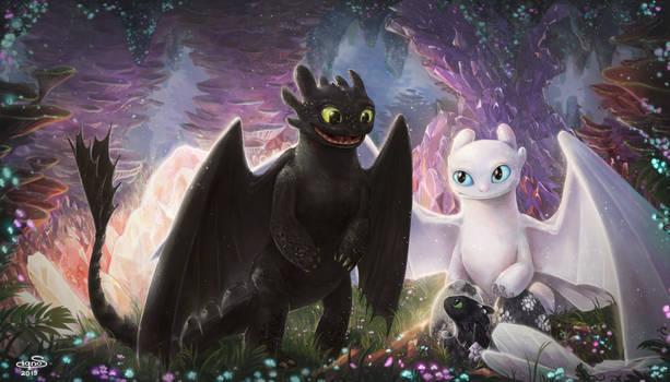 The New Dragon is born by Fuytski