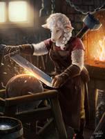 Furry Blacksmith