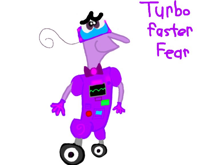 Super Emotions 03 : Turbo Faster Fear by Beanie122001