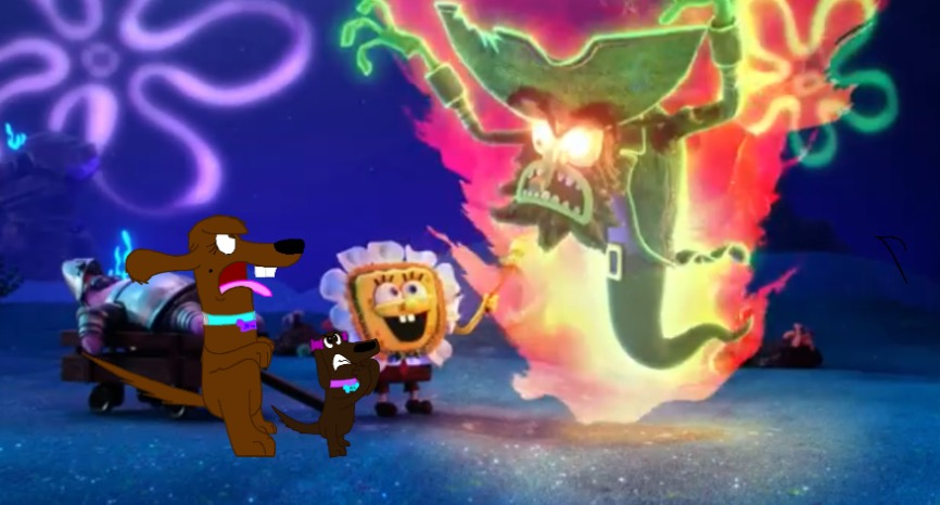 Me and Mia in the new Spongebob Halloween special by Beanie122001 ...