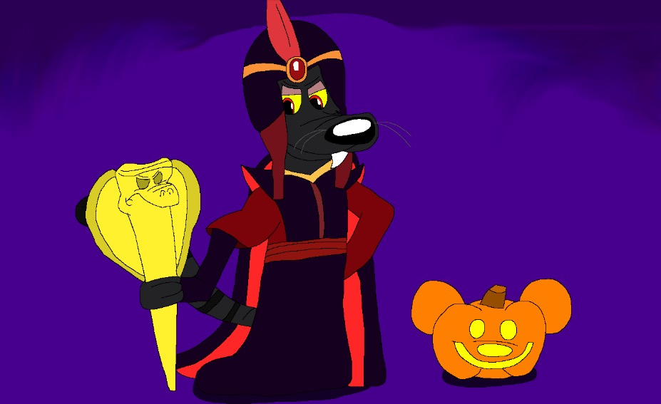 October day 11 : Bruce the grand vizier by Beanie122001