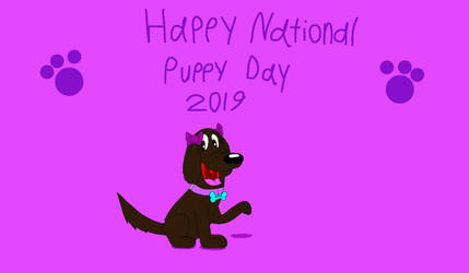 Happy National Puppy Day 2019 by Beanie122001