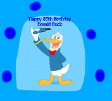Happy 85th Birthday Donald Duck by Beanie122001