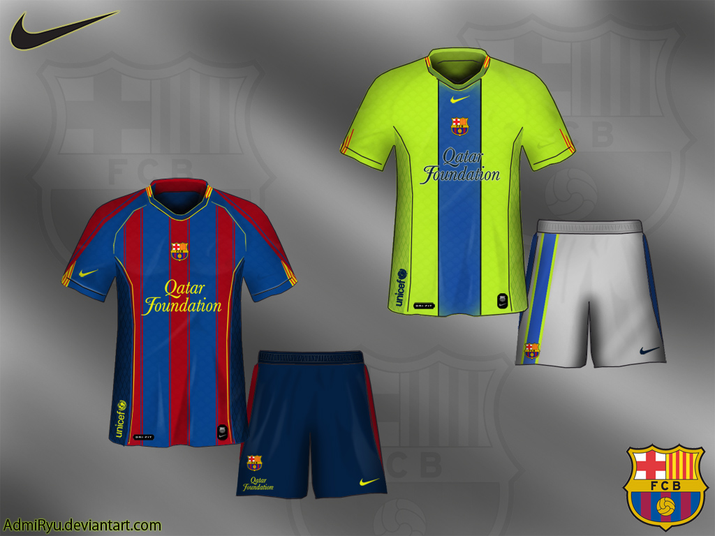 reputable site 12421 c5ed4 FC Barcelona Kit 2012 - 2013 by AdmiRyu on DeviantArt