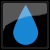droplet icon by wardrich