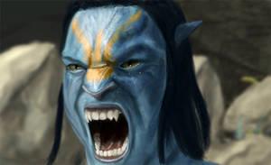 Avatar Na'vi by imdeerman