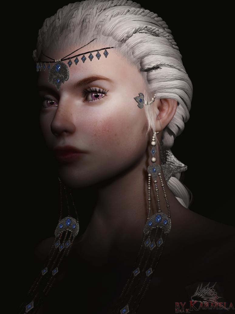 Daenerys Stormborn by Karmela-LKL