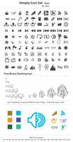 Simply Icon Set_for Web